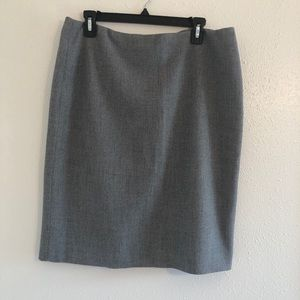 ANNE KLEIN Business Suit Pencil Skirt Grey